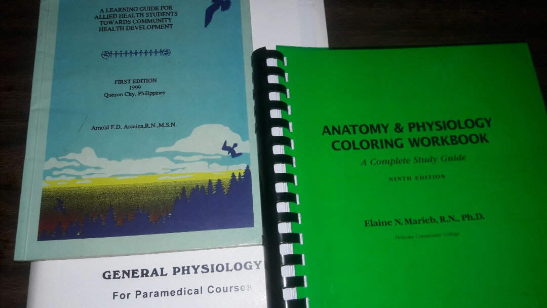 Anaphy Workbook Allied Health Book Etc Textbooks On Carousell