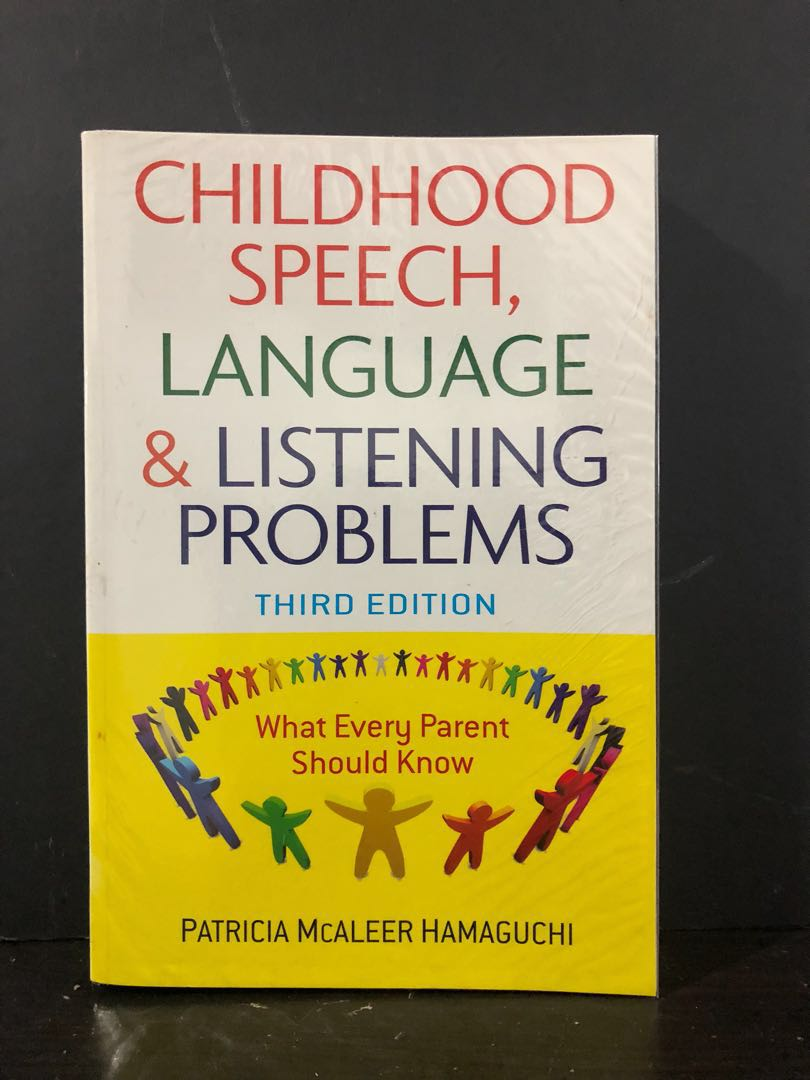Book - Childhood Speech, Language & Listening Problems, Books & Stationery,  Non-Fiction on Carousell