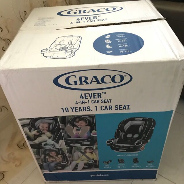 BRAND NEW Graco 4Ever 4 In 1 Convertible Car Seat Matrix