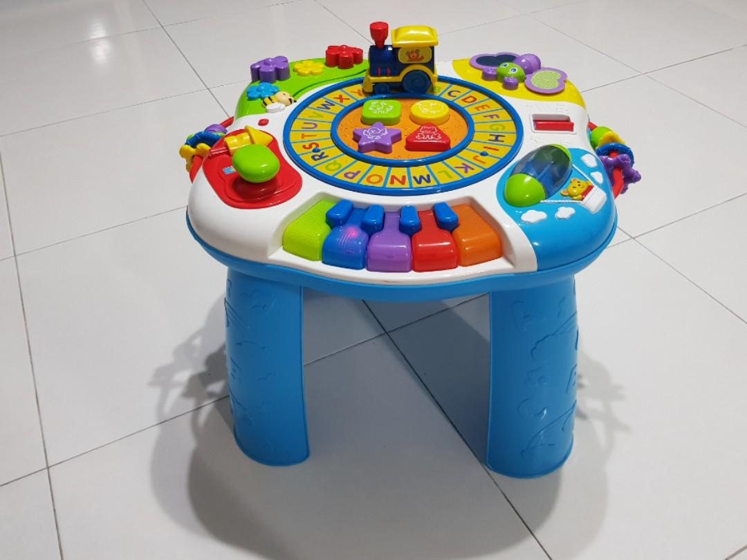 BRU Activity Table Discovery Train Table, Babies & Kids