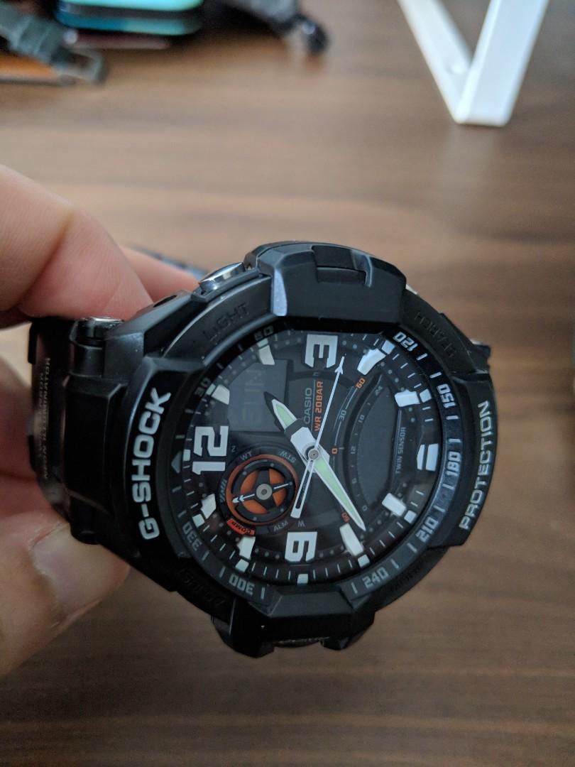G Shock 5302 Ga 1000 Price The Gmc Car Casio 9bdr Gravity Master Twin Sensor Watch Men S Fashion Watches On Carousell