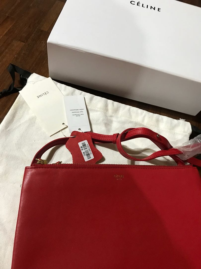 Celine trio, Women s Fashion, Bags   Wallets on Carousell 29dab4bdd6