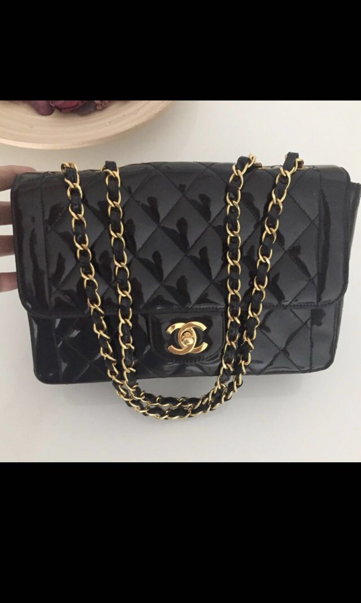 "66b79e81f597 Chanel Classic 9"" CC Turnlock, Luxury, Bags & Wallets, Handbags on ..."