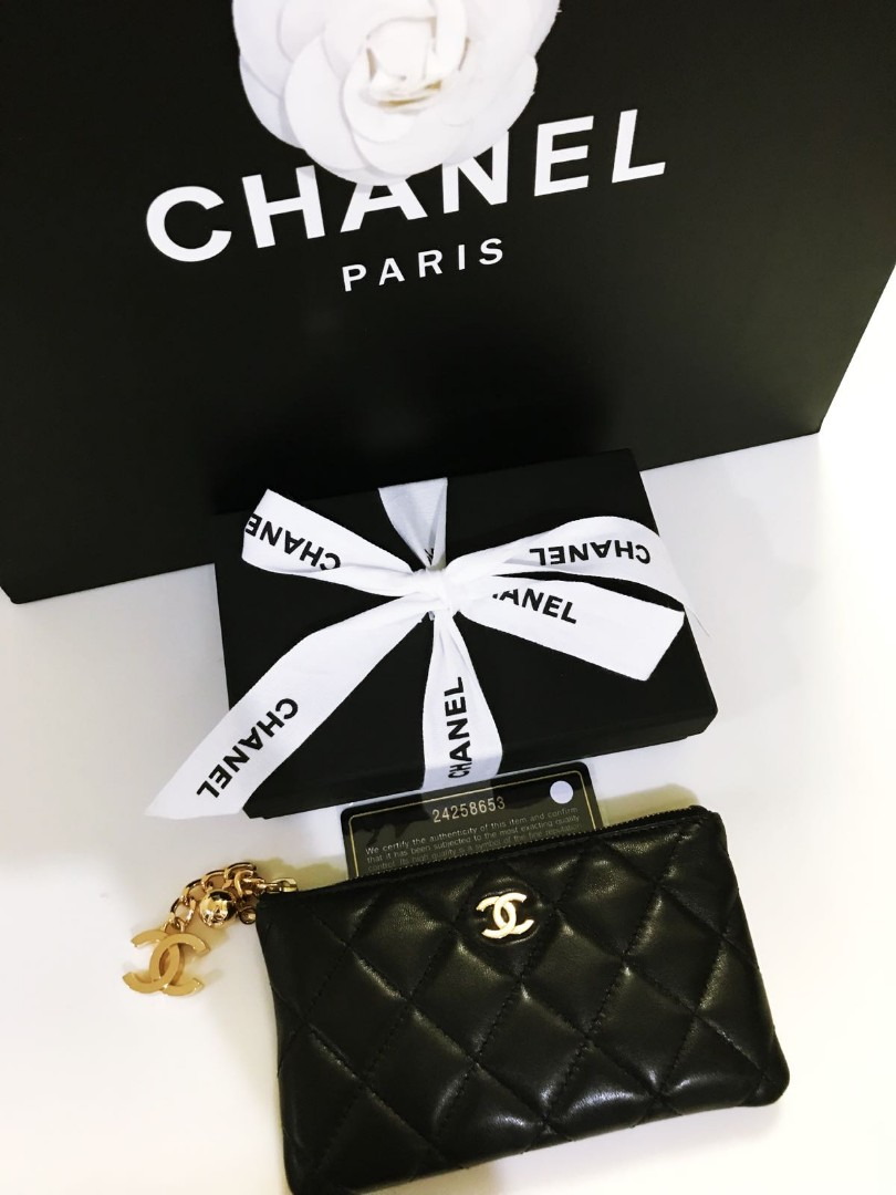 2671cd8870d8 BN Chanel Mini O Case, Luxury, Bags & Wallets, Wallets on Carousell