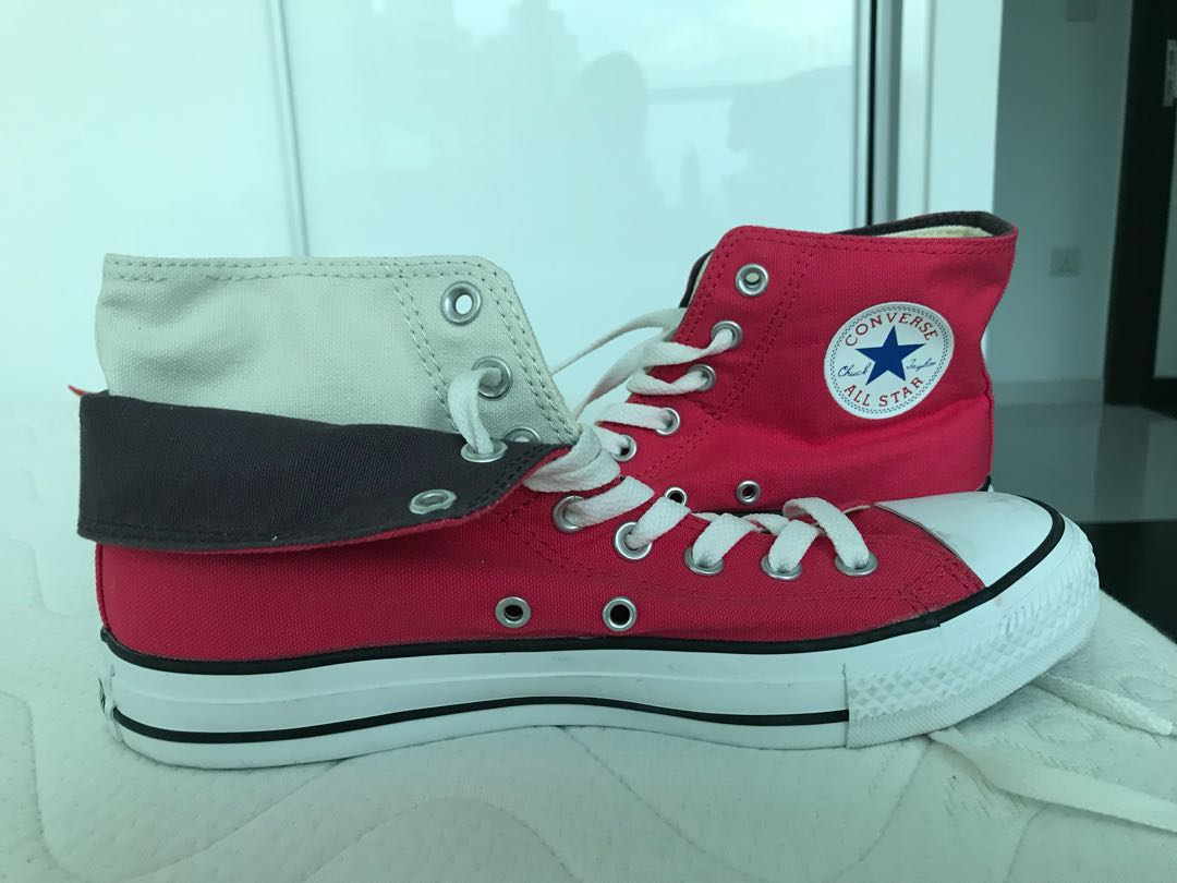 b789f20404d3 Double layered Converse