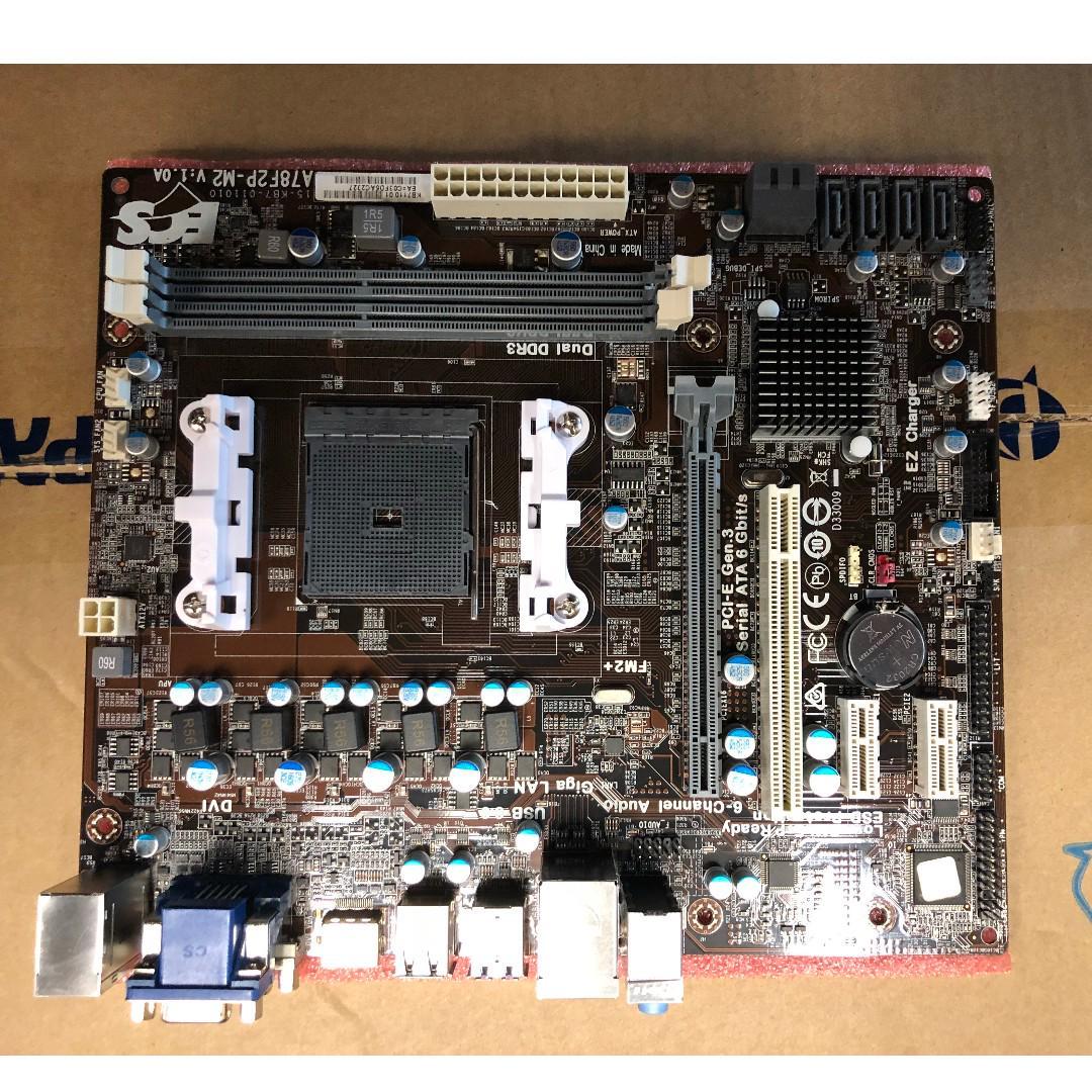 ECS A78F2P-M2 Motherboard