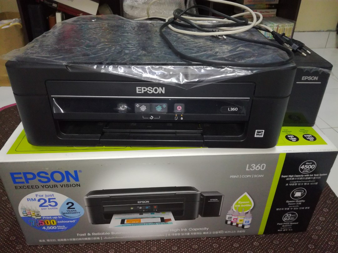 Epson Printer L360 3 In 1 Electronics Computer Parts Accessories L 360 On Carousell