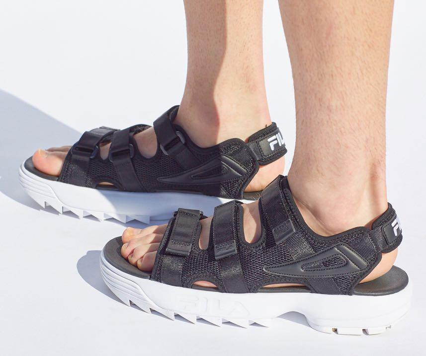 625f69b0d114 Fila Disruptor Sandals Black FS1SPA2002X Slippers