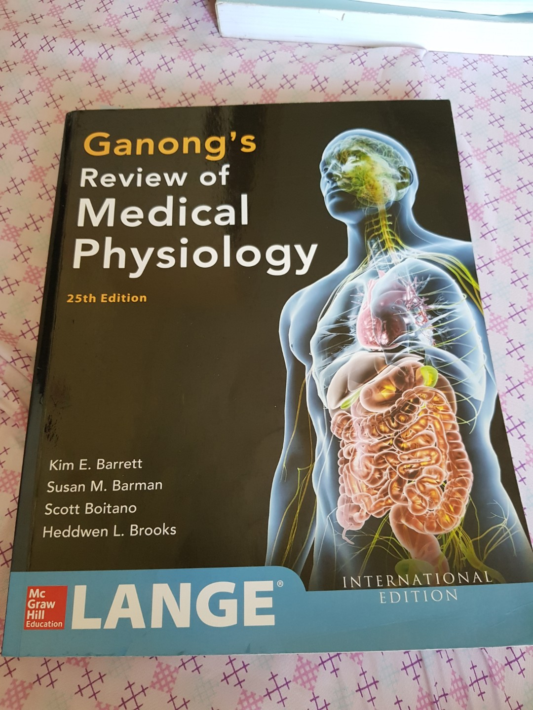 Ganong Medical Physiology, Textbooks on Carousell