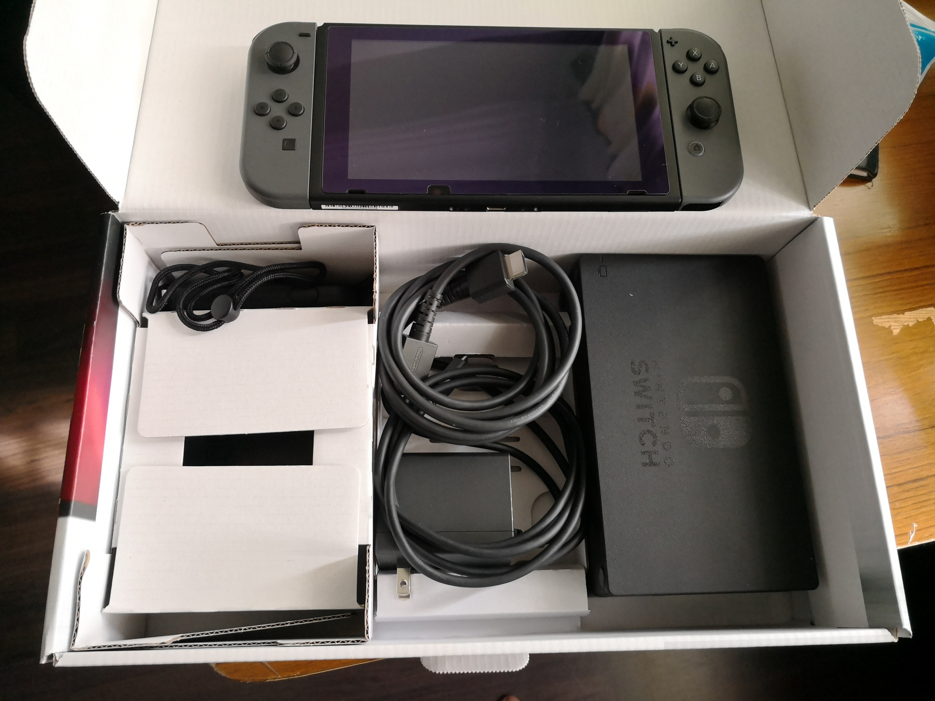 Grey Nintendo Switch Toys Games Video Gaming Consoles On Carousell Without Game Photo