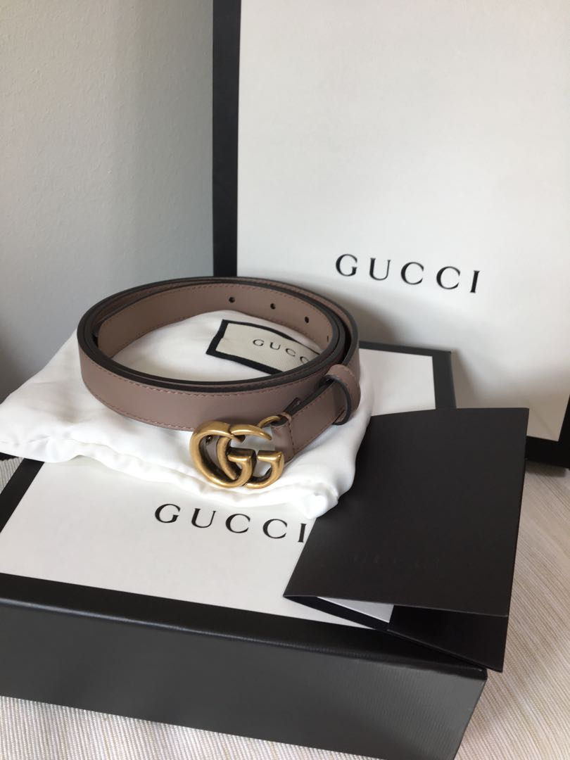 1f42660cb Gucci Double G Buckle Belt, Luxury, Accessories, Belts on Carousell
