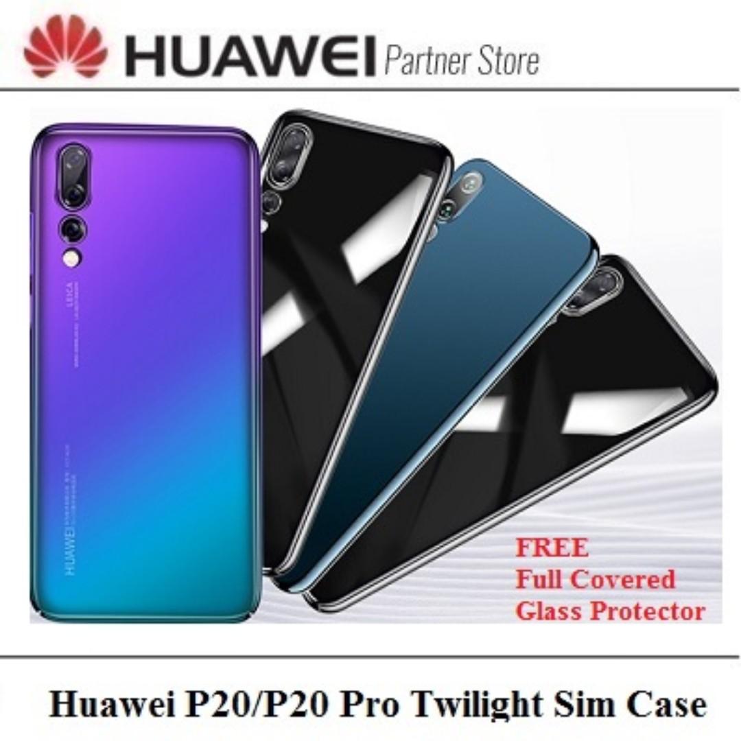 new style e10a2 6a7c8 Huawei P20/P20 Pro Twilight Effect Slim Case