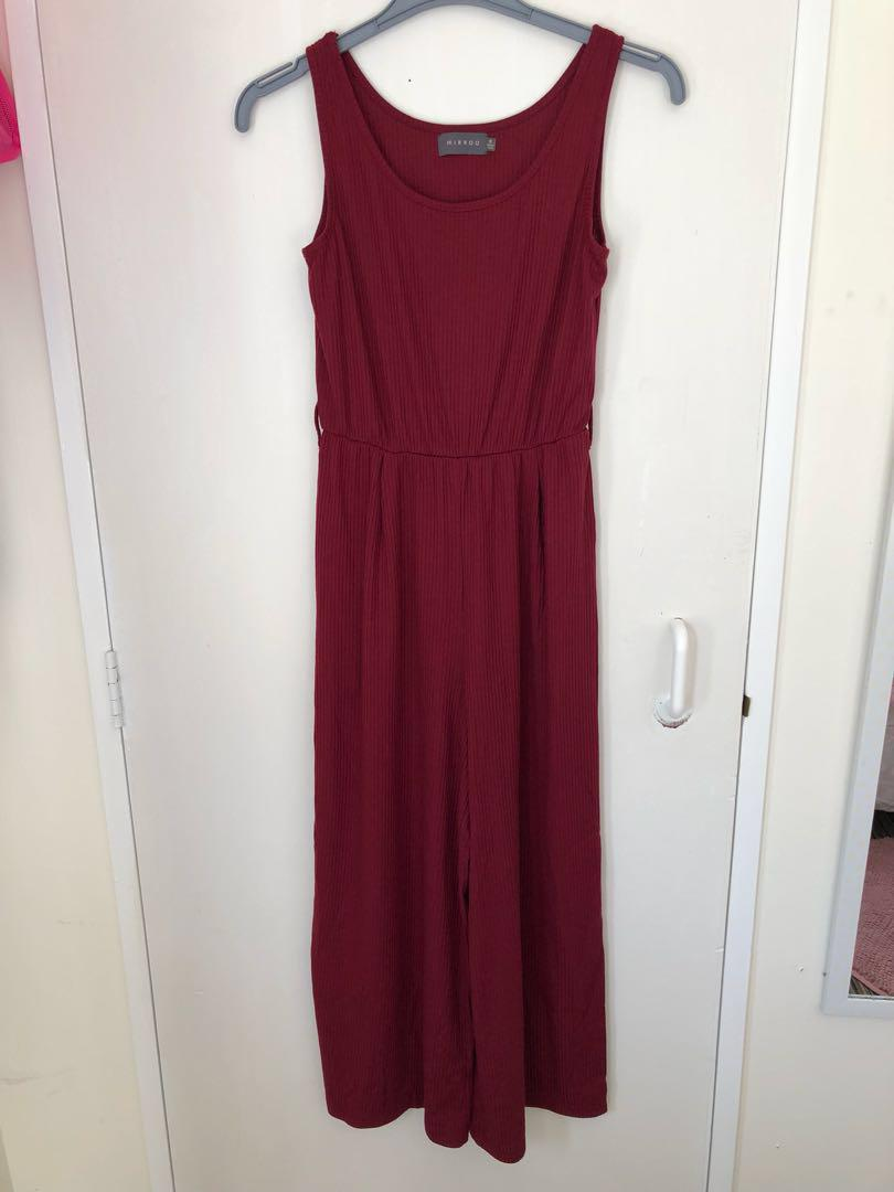 jumpsuit mirrou size small