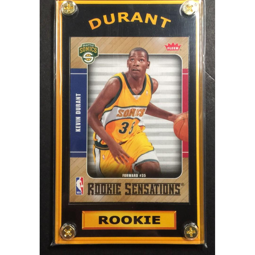 Kevin Durant Rookie Sports Card All Star Game Mvp On Carousell