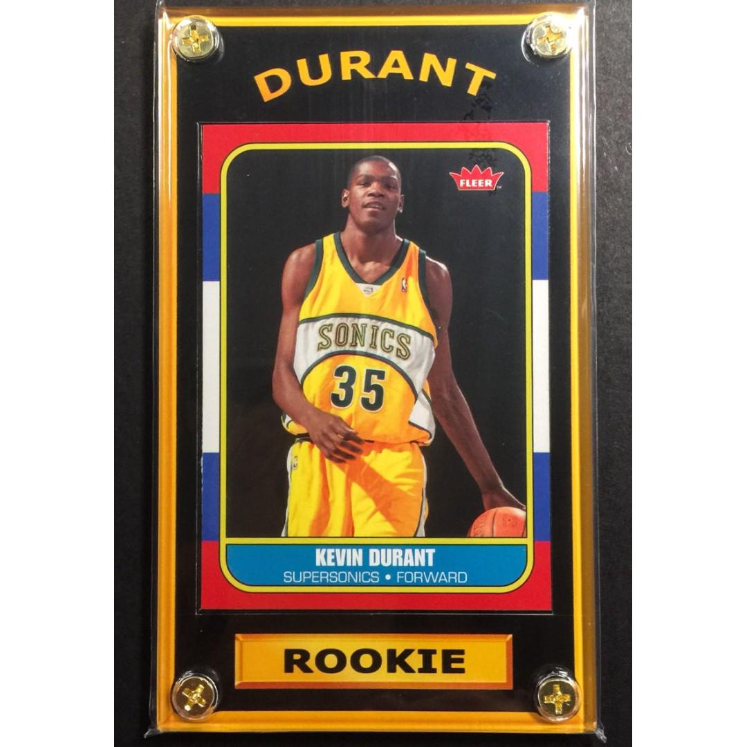 Kevin Durant Rookie Sports Card Nba Finals Mvp On Carousell