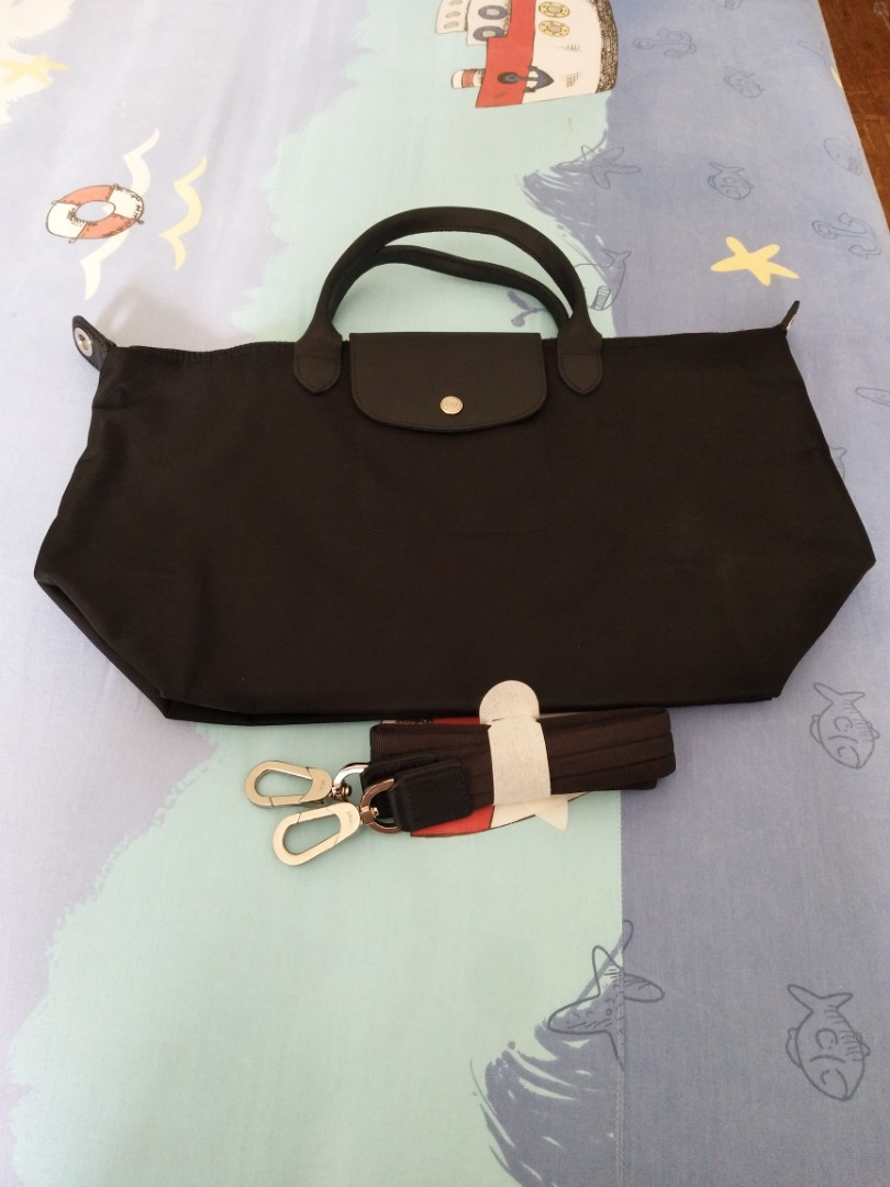 Longchamp Tas Wanita Le Pliage Neo Small Marun Referensi Daftar Medium Tote Hitam Photo