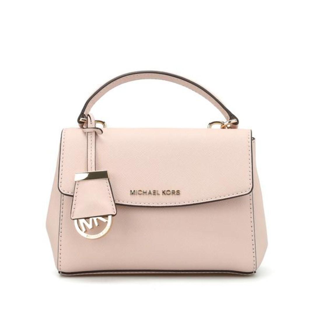 7f7c7b06d4cd Michael Kors Ava Extra Small Crossbody Bag Soft Pink, Women's ...