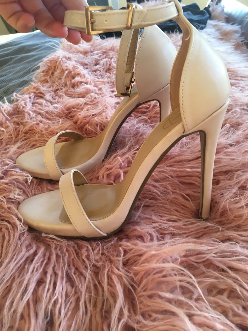 Misguided Nude Heels Size 38