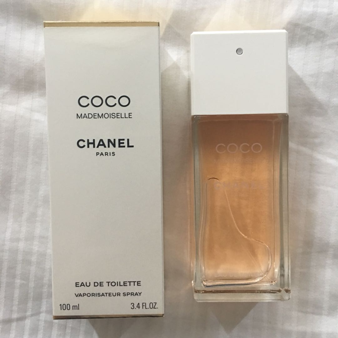 new 40 off chanel coco mademoiselle eau de toilette 100ml health beauty perfumes. Black Bedroom Furniture Sets. Home Design Ideas