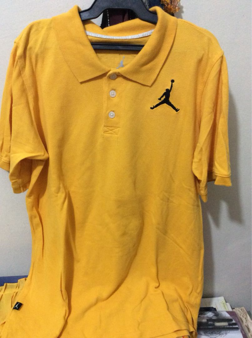 Nike Air Jordan Yellow Polo 601a153d9