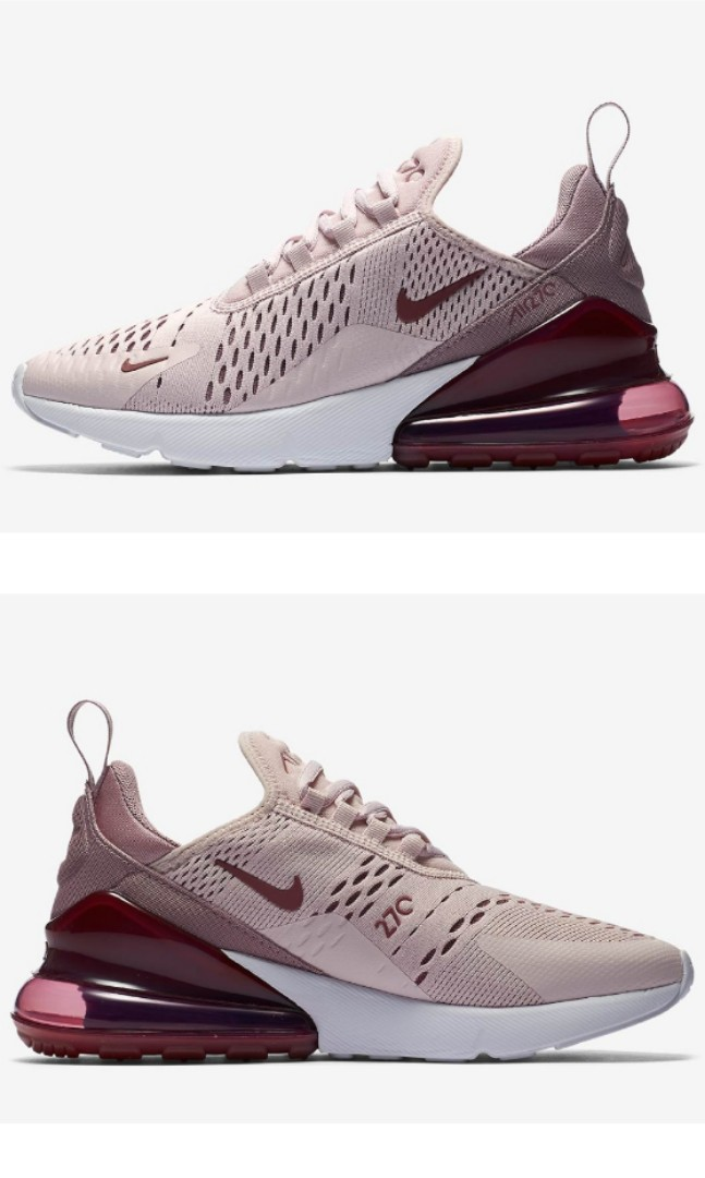 de03a9d0e5d6 Nike Air Max 270 Barely Rose