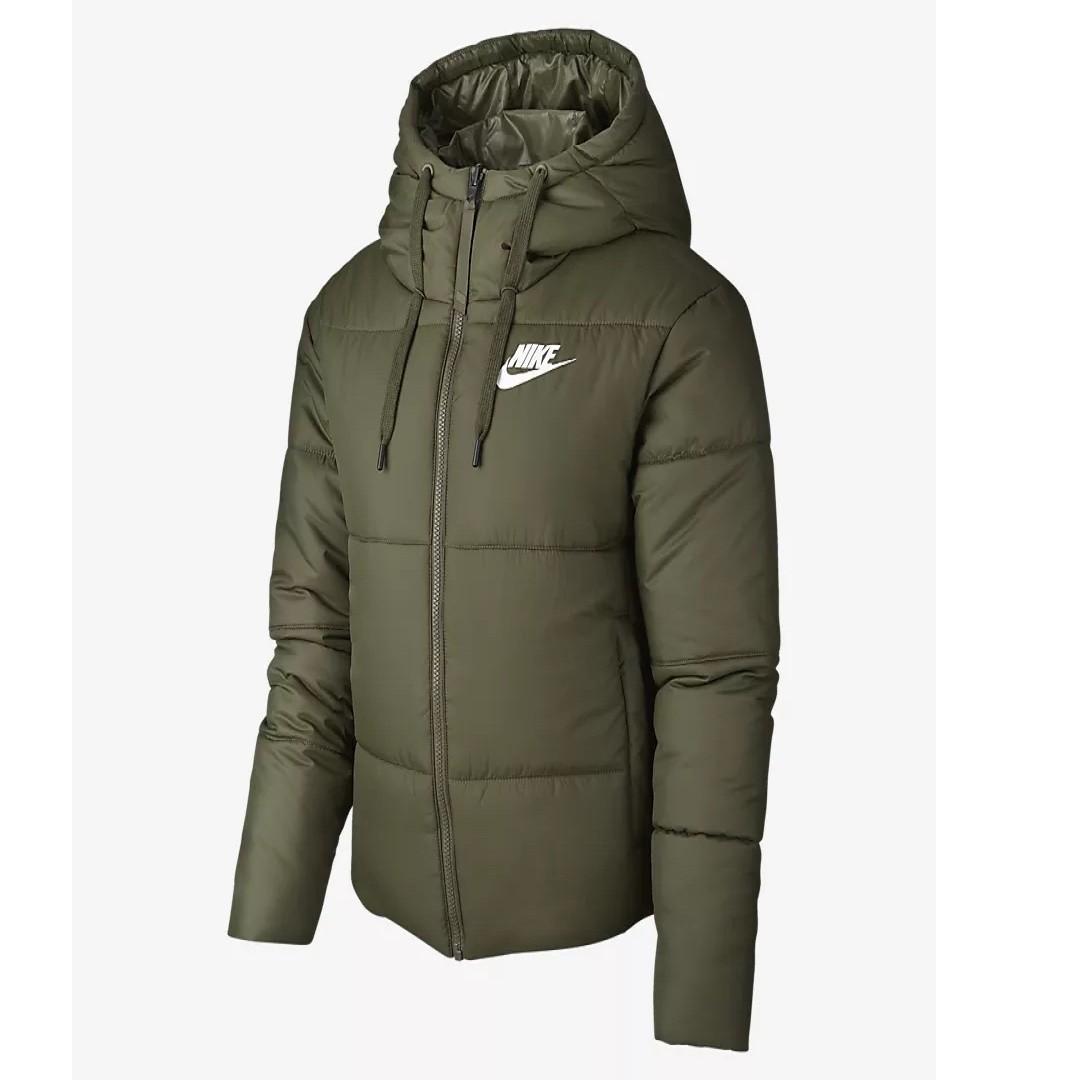 86d98a53c Nike Sportswear Synthetic Fill Women's Reversible Jacket (Olive ...