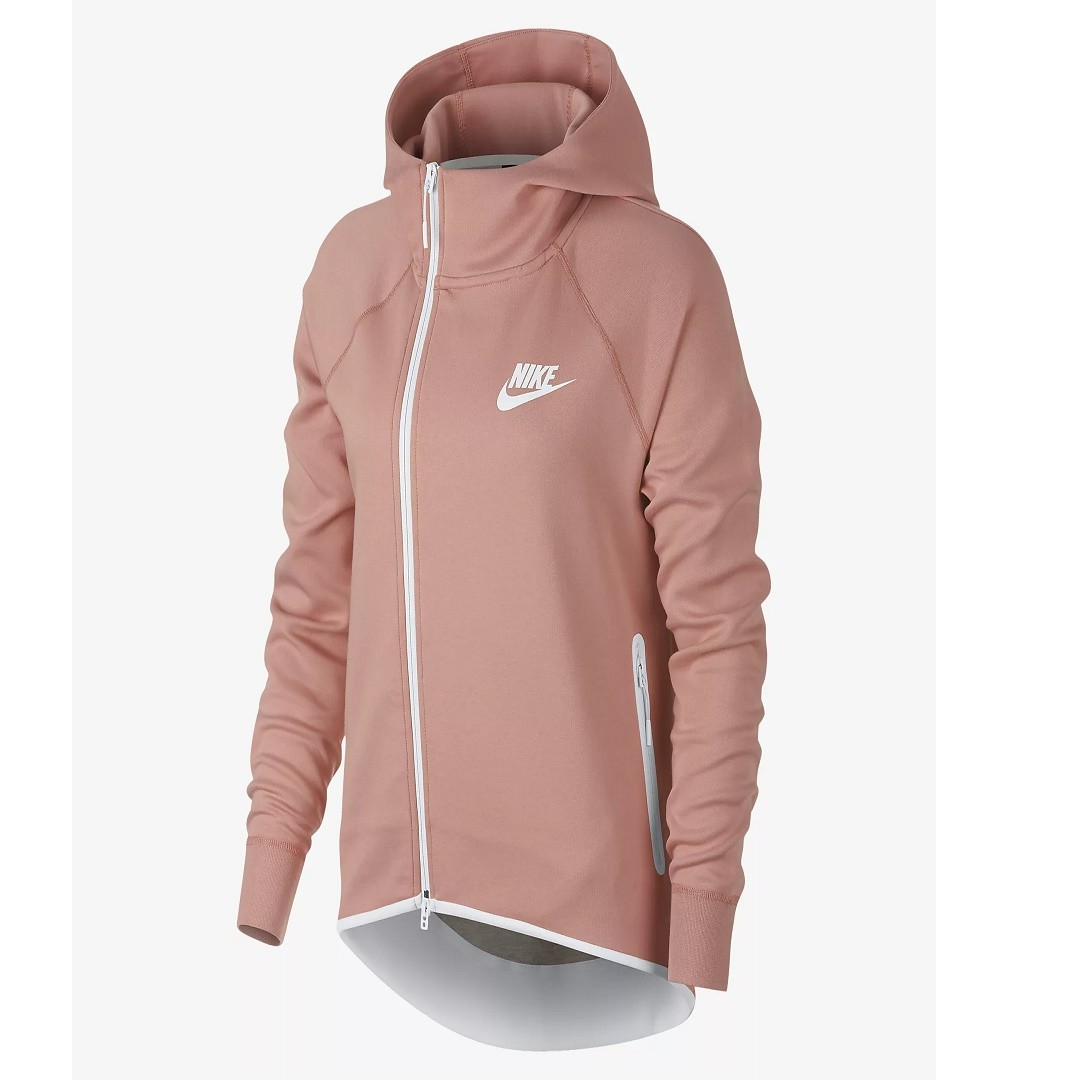 390db64fcb0c Nike Sportswear Tech Fleece Women s Full-Zip Cape (Rust Pink Rust ...