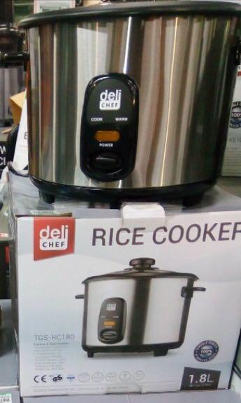 Original Deli Chef Rice Cooker Kitchen Appliances On Carousell