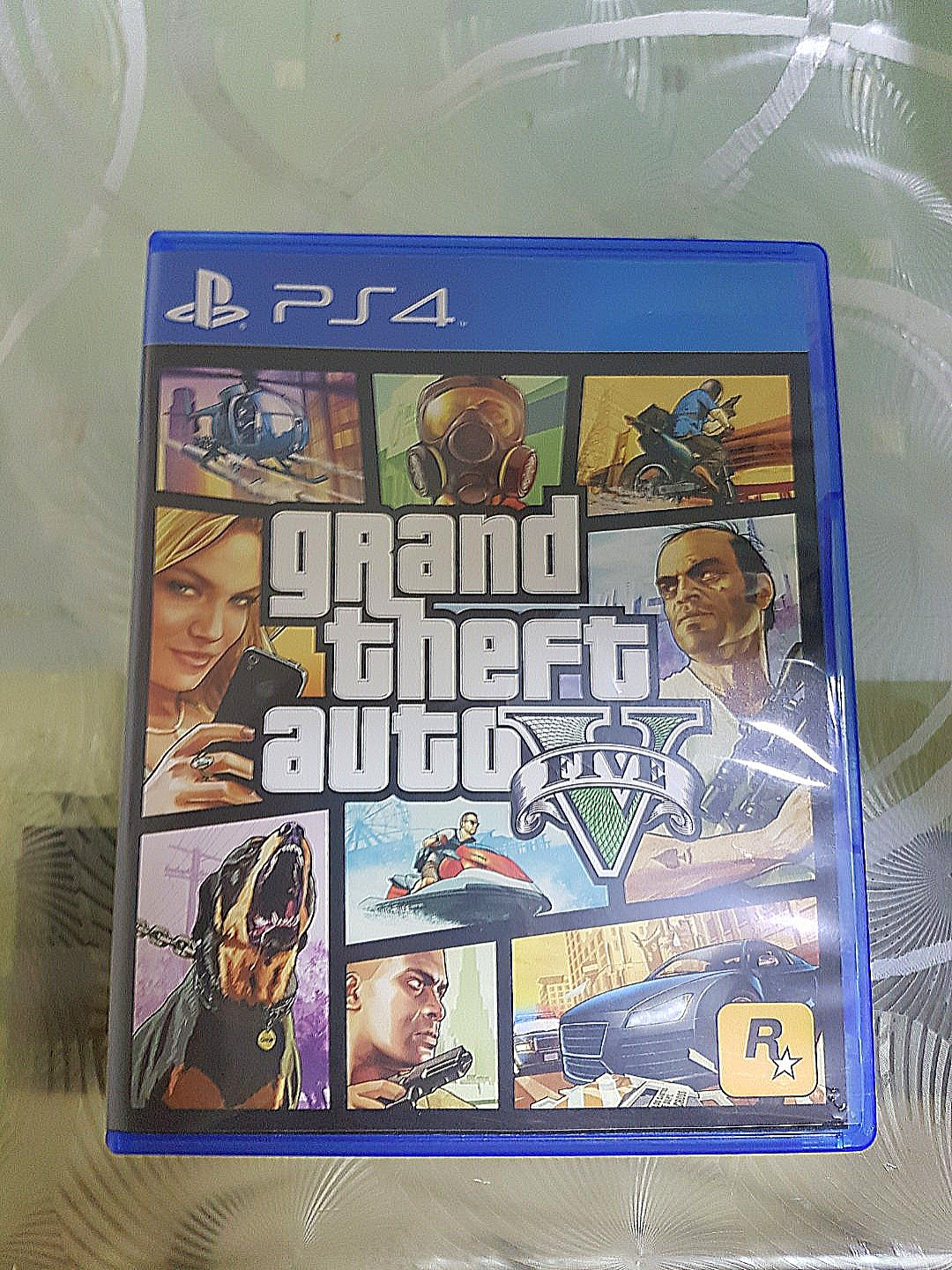 Ps4 Grand Theft Auto V Toys Games Video Gaming On Game Photo