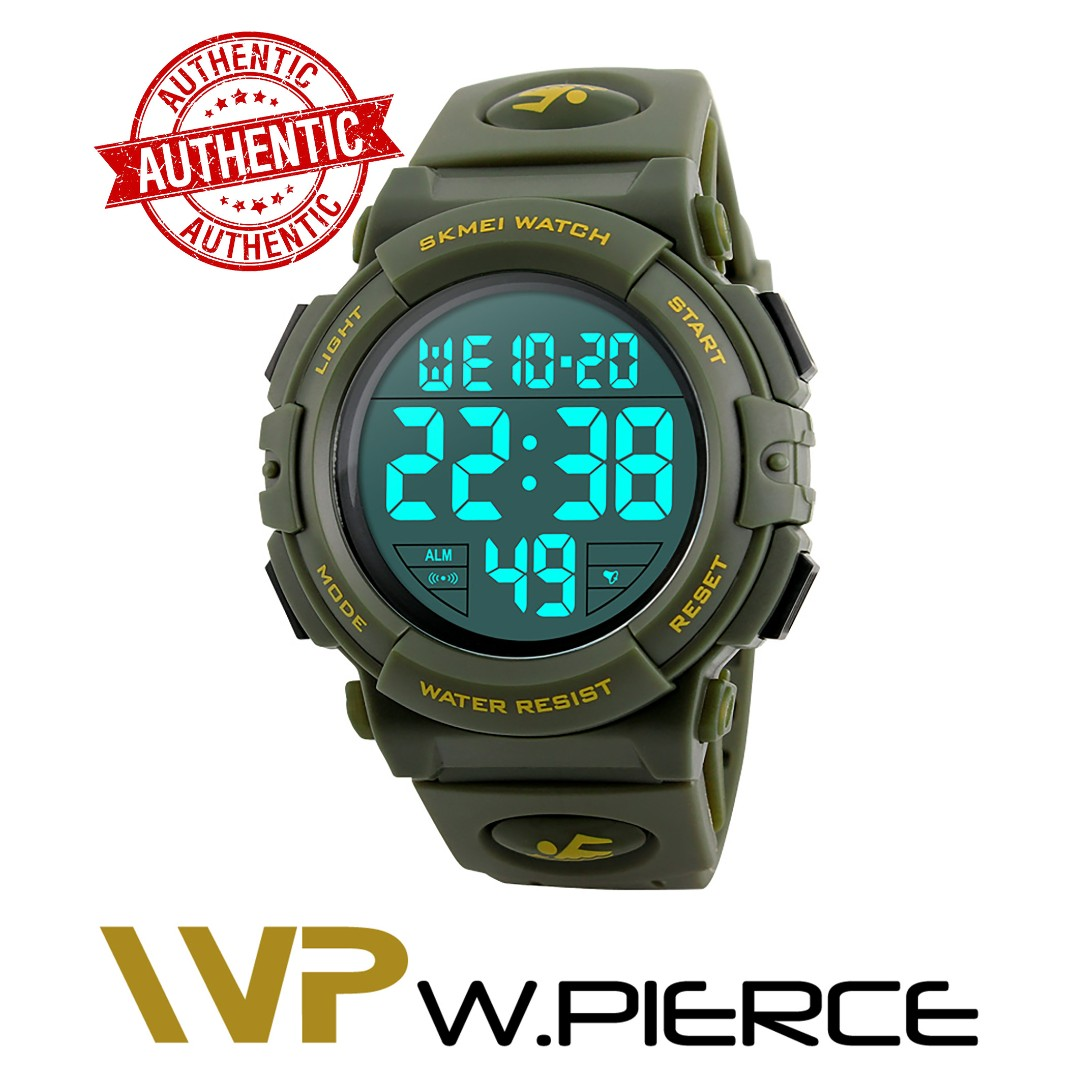 3cb3e069c SKMEI 1258 W.Pierce New Sports Watches Men Outdoor Fashion Digital ...