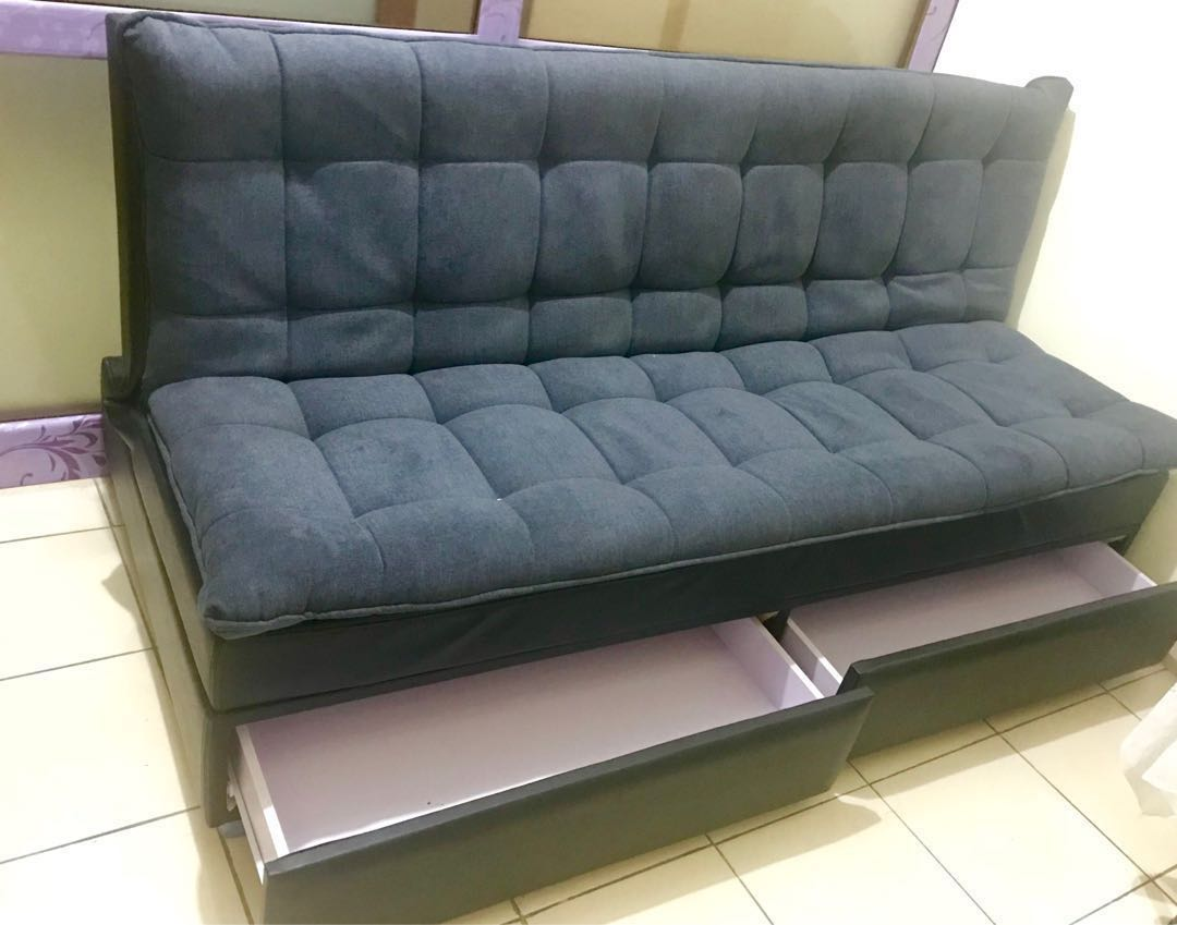 Brilliant Sofa Bed With Drawers Squirreltailoven Fun Painted Chair Ideas Images Squirreltailovenorg