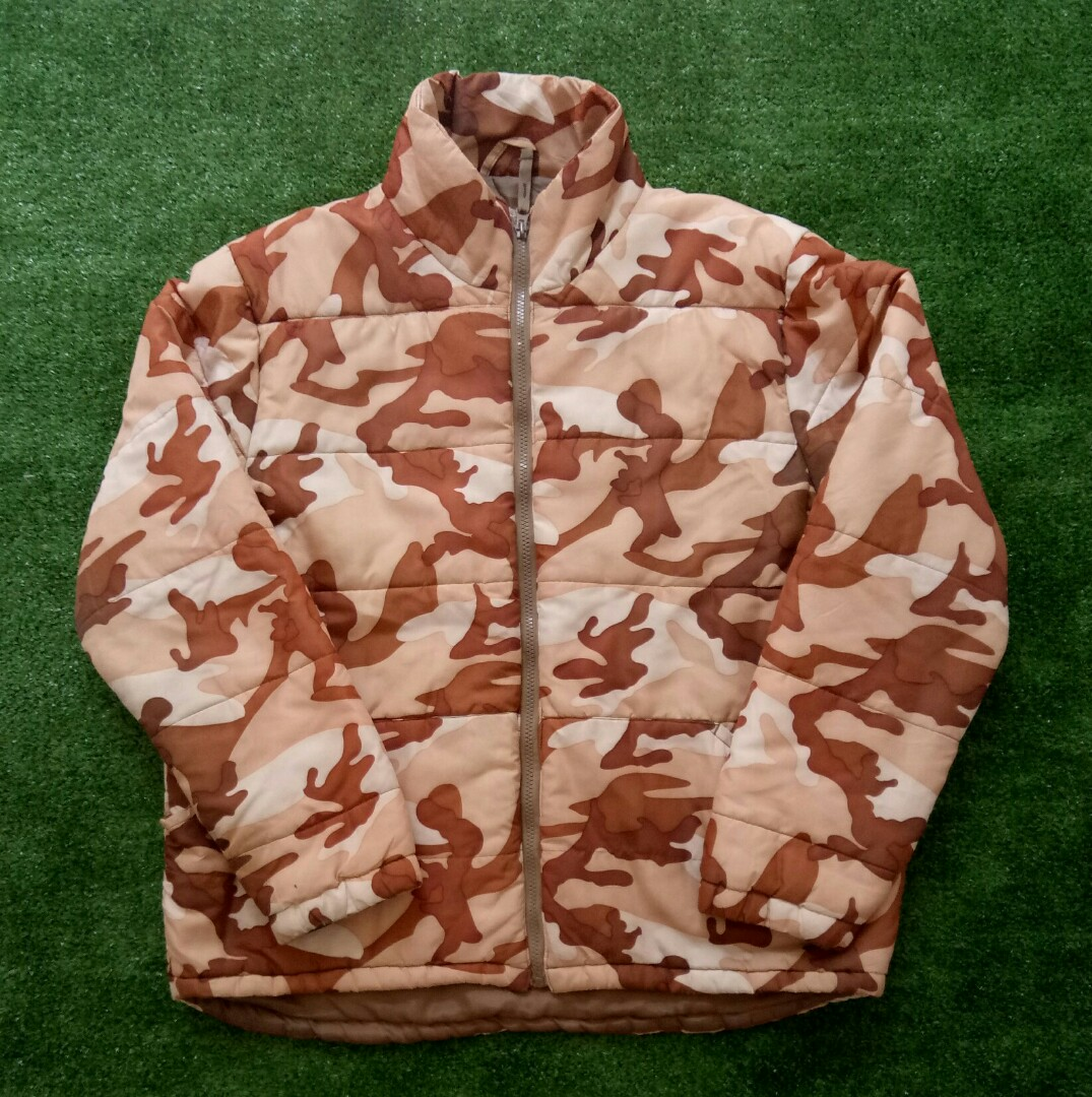 Vintage Fubu Desert Camo Down Jacket Men S Fashion Men S Clothes