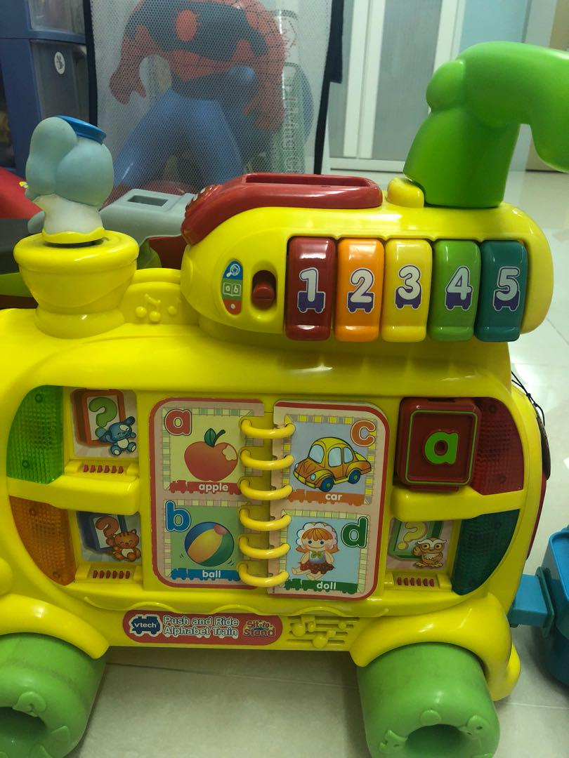 Vtech ABC train, Babies & Kids, Toys & Walkers on Carousell