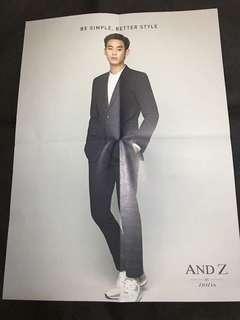 金秀賢andz 雙面leaflet (a款)
