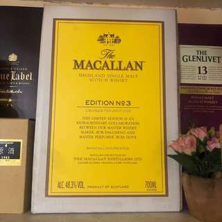 Macallan Edition No 3 原箱x6支 700ml