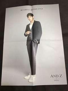 金秀賢andz leaflet (d款)