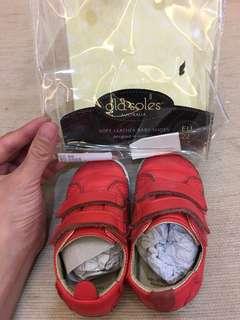 Old soles 真皮寶寶鞋13.4公分