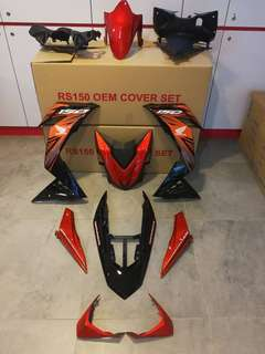 honda rs150 cover set