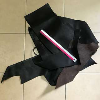 🚚 Scrap leather 1.3 kg