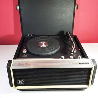 Vintage Columbia Portable Turntable Player-Model 2190RM (CST_02-0718-43)