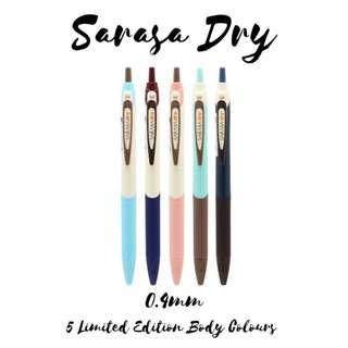 Sarasa Dry 0.4mm