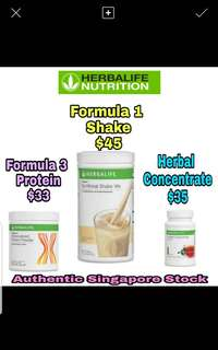 Herbalife Formula 3 protein powder /herbal concentrate