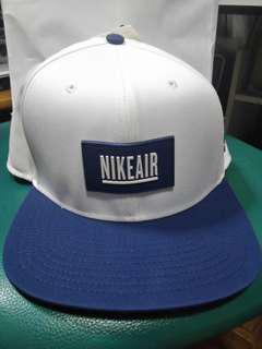 全新Nike x Pigalle Air Cap Nikelab Snapback Hat logo 帽 blue white