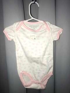 Burt's Bees Baby Bee Essentials Organic Short Sleeve Baby Bodysuit