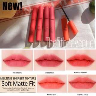 [New] 3CE Velvet Lip Tint