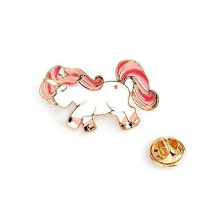 Pink Unicorn Enamel Pin