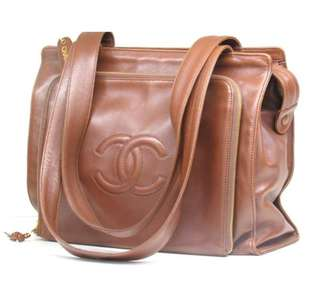 Chanel Vintage Bag 大手提包 型人必備😎