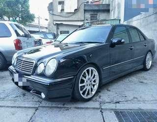 1999年出廠 中華賓士 E280 W210