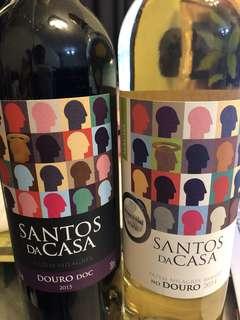 葡萄牙紅酒「SANTOS DA CASA」