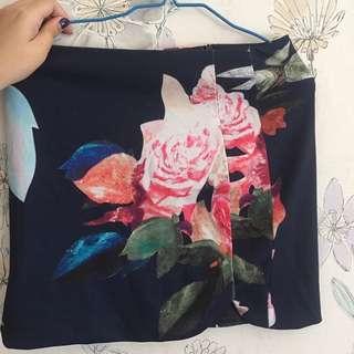 Skirt Flower zara